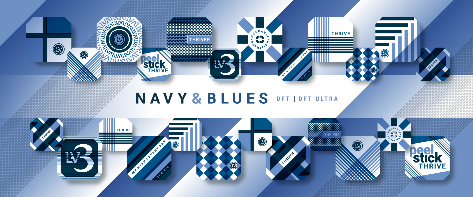 THRIVE DFT Navy Blues