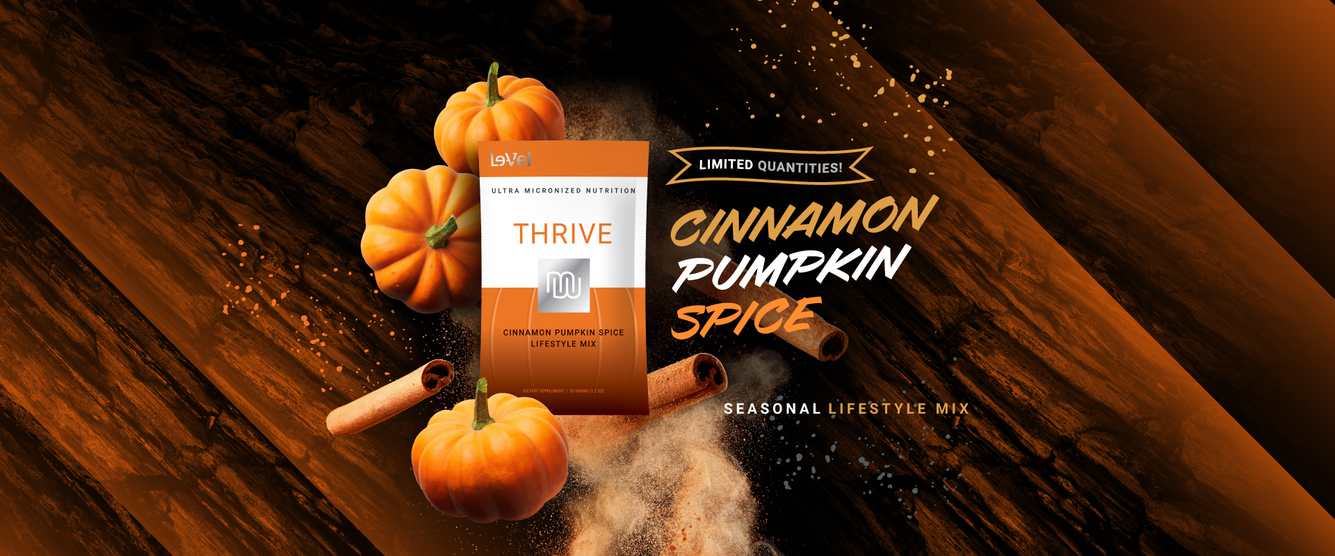 THRIVE Premium Lifestyle Mix - Thrive Cinnamon Pumpkin Shake