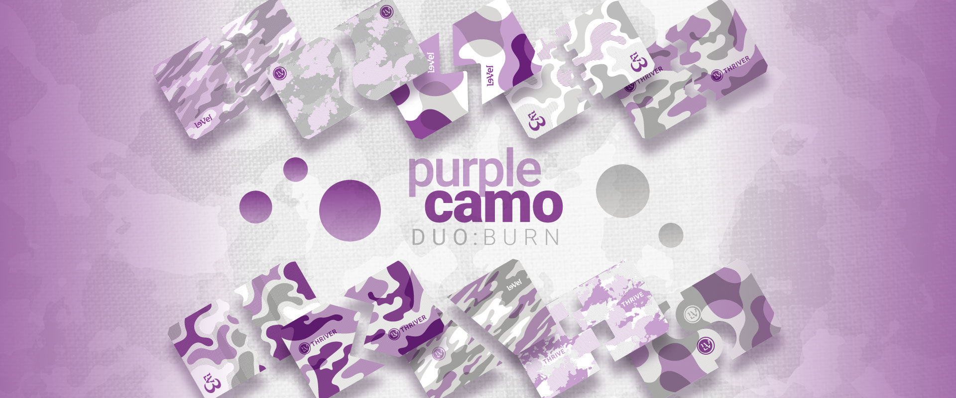 THRIVE Plus - DFT DUO BURN PURPLE CAMO