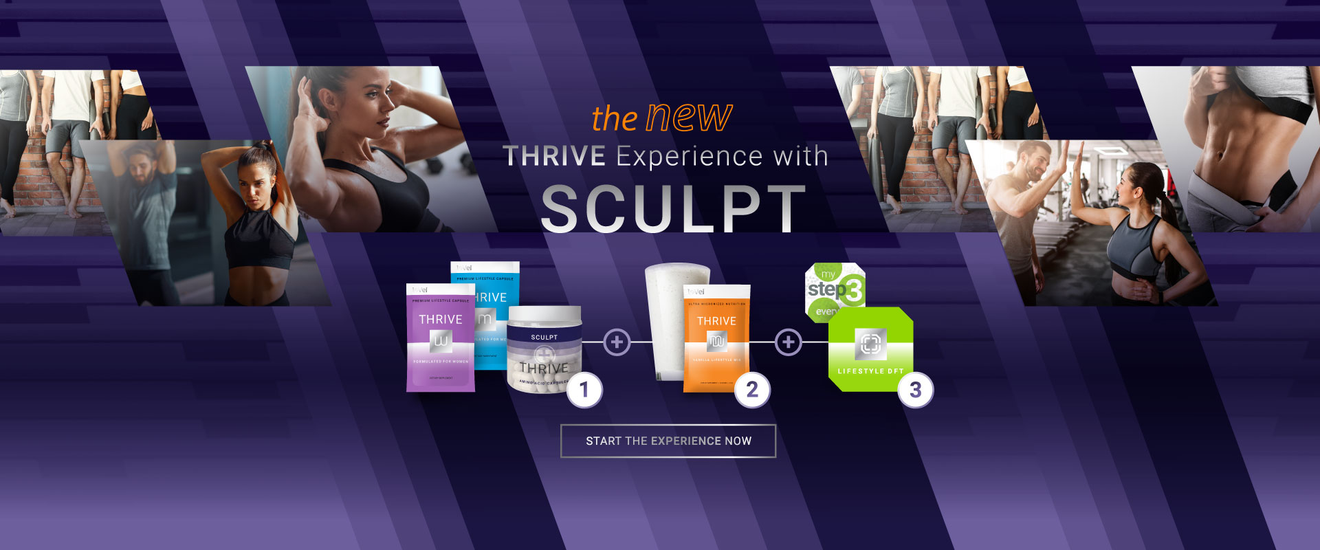 The New THRIVE Sculpt Experience - START THE EXPERIENCE NOW