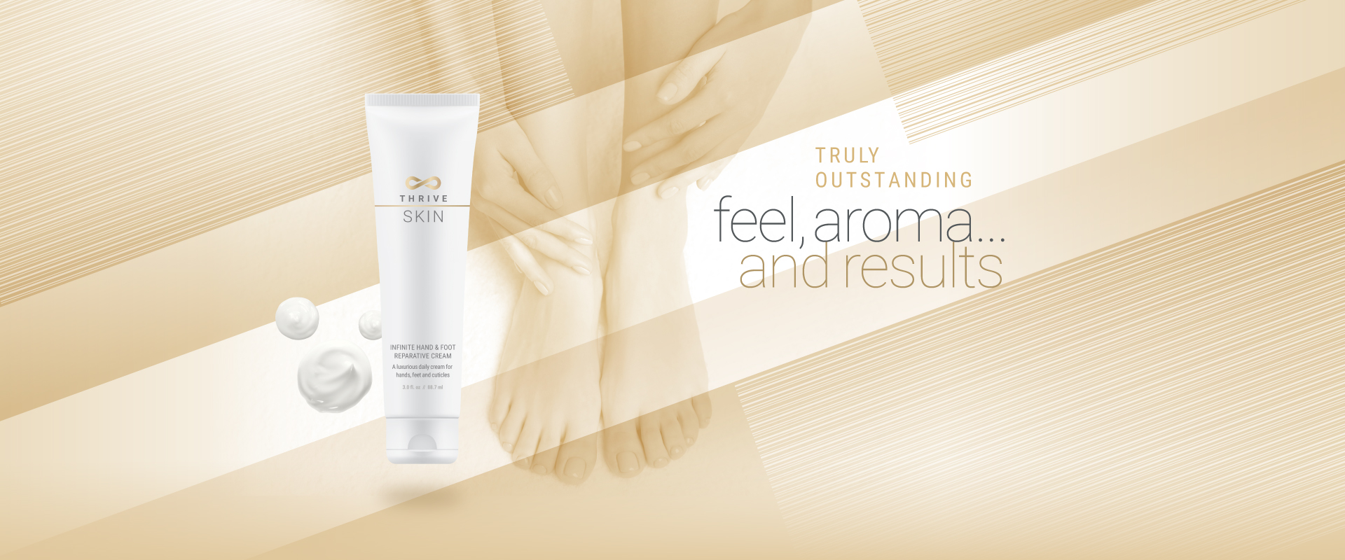 THRIVE SKIN Han And Foot Cream