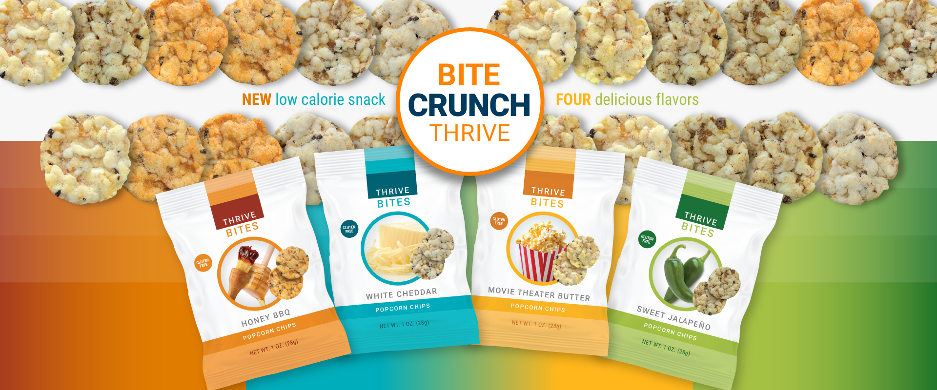THRIVE BITES Popcorn Chips