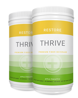 THRIVE RESTORE product packaging