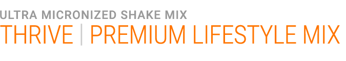 THRIVE Premium Lifestyle Mix - Thrive Shake